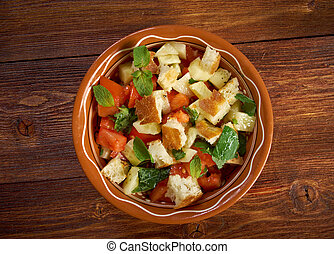fattoush, -, lebanese, salada
