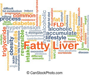 Fatty liver background concept - Background concept ...