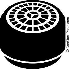 Faucet aerator icon