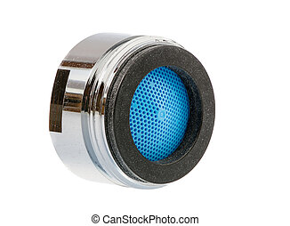 Faucet Aerator - Isolated faucet aerator for saving water