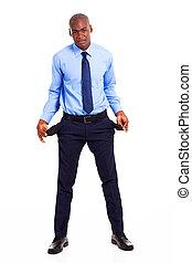 fauché, américain africain, homme affaires