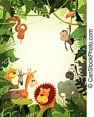 fauna, animales, papel pintado