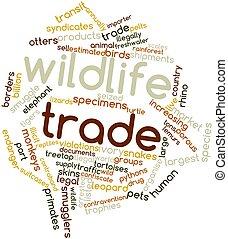 fauna, comercio