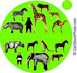 Fauna Doodle Set