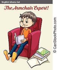 fauteuil, expert