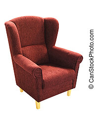 fauteuil, isolé