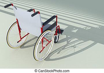 Rampe fauteuil roulant acc s devant escalier ou for Sedia elettrica che sale le scale