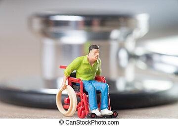 fauteuil roulant, utilisateur