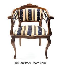 stock image de fauteuil style vieux brun style vieux fauteuil cuir csp3552556. Black Bedroom Furniture Sets. Home Design Ideas