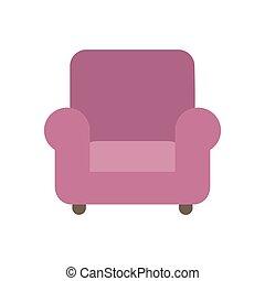 fauteuil, vecteur