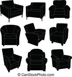 fauteuils, collection