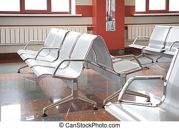 fauteuils, salle d'attente