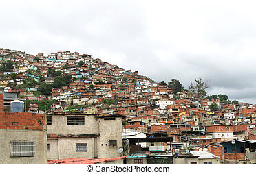 Favella of Caracas, Venezuela
