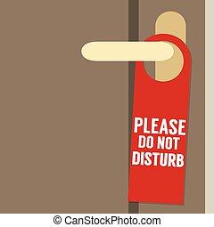 favor, perturbe, porta, cabide
