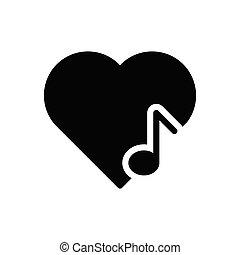 favorite glyph flat icon