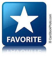 Favorite (star icon) blue square button