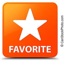 Favorite (star icon) orange square button