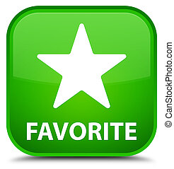 Favorite (star icon) special green square button