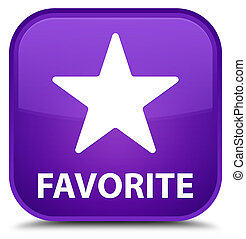 Favorite (star icon) special purple square button