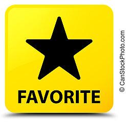 Favorite (star icon) yellow square button