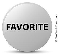 Favorite white round button