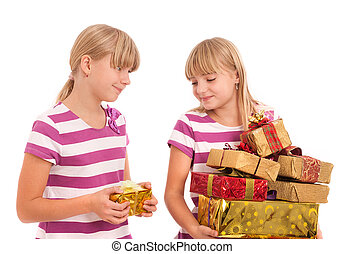 Favoritism in the family - Favoritism in gift giving is...