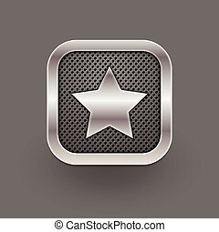 favorito, icon., vettore, eps10, illustrazione