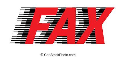 fax, icono
