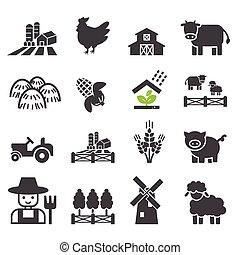 fazenda, ícone