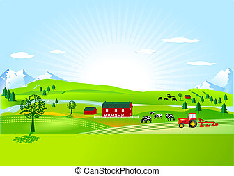 fazenda, campo
