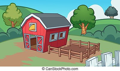 fazenda, caricatura