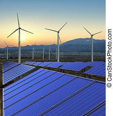 fazenda, energia, rewnewable
