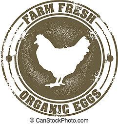 fazenda fresco, ovos
