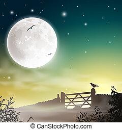 fazenda, portão