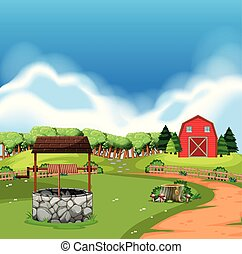 fazenda, terra rural