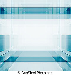 fazendo, abstratos, cubos, 3d