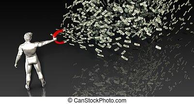 fazendo dinheiro