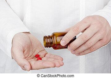 fazendo exame medication