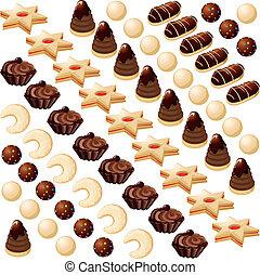 fazer, biscoitos natal