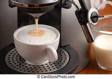 fazer, cappuccino