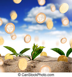 fazer, conceito, dinheiro