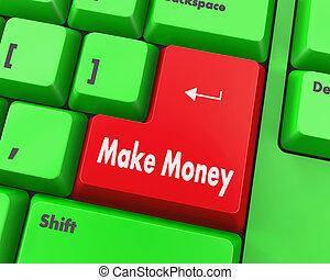 fazer, dinheiro