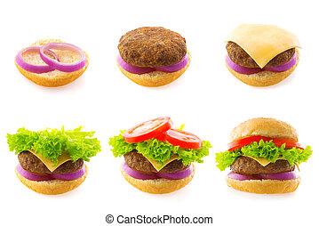 fazer, hambúrguer