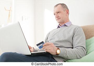 fazer, homem, adulto, comprar online
