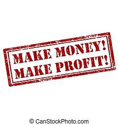 fazer, money!-stamp