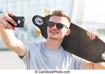 fazer, selfie