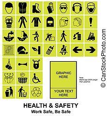 fazer, seu, próprio, saúde segurança, sinais