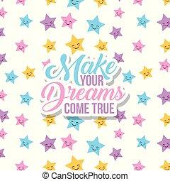 fazer, seu, sonhos