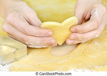 fazer, shortbread, biscoitos