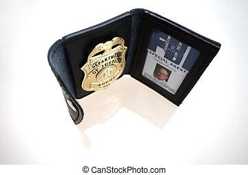 fbi, badge